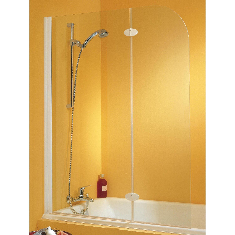 schulte badewannenaufsatz 2 teilig chromoptik klar kaufen bei obi. Black Bedroom Furniture Sets. Home Design Ideas