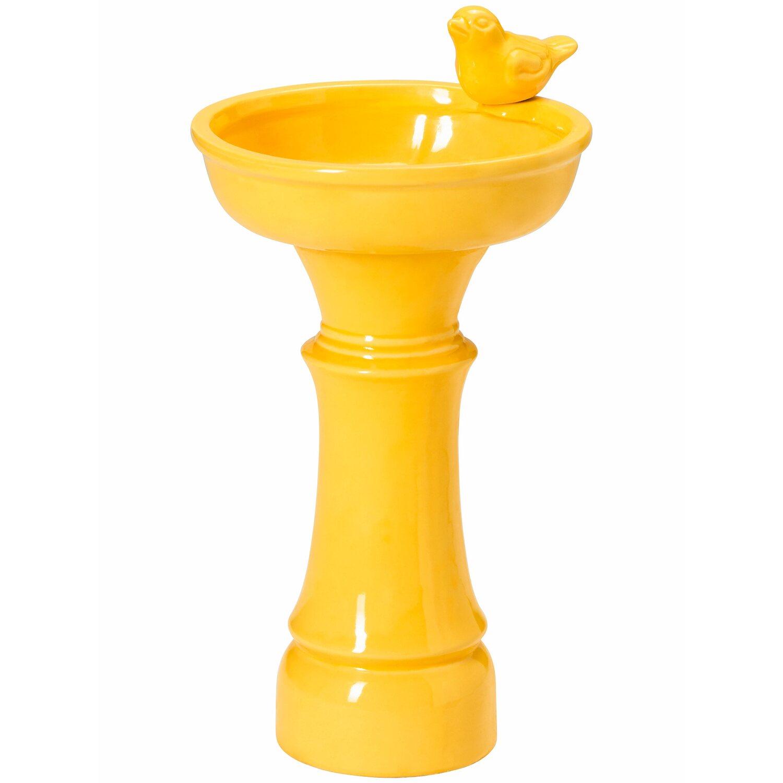 Vogeltränke 36 cm Gelb kaufen bei OBI