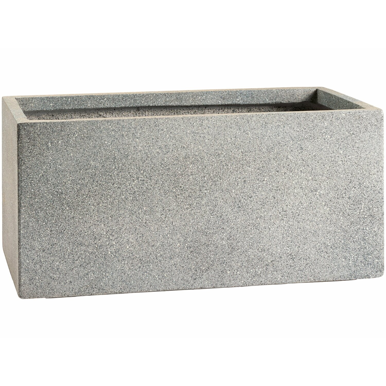 obi pflanzkasten nizza 60 cm grau kaufen bei obi. Black Bedroom Furniture Sets. Home Design Ideas