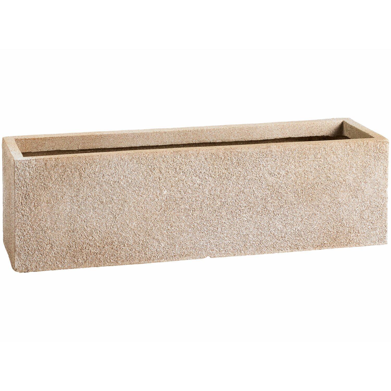 obi pflanzkasten calais 59 5 cm beige kaufen bei obi. Black Bedroom Furniture Sets. Home Design Ideas