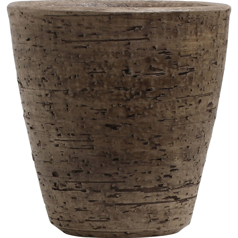 vase lava conica 11 cm braun kaufen bei obi. Black Bedroom Furniture Sets. Home Design Ideas