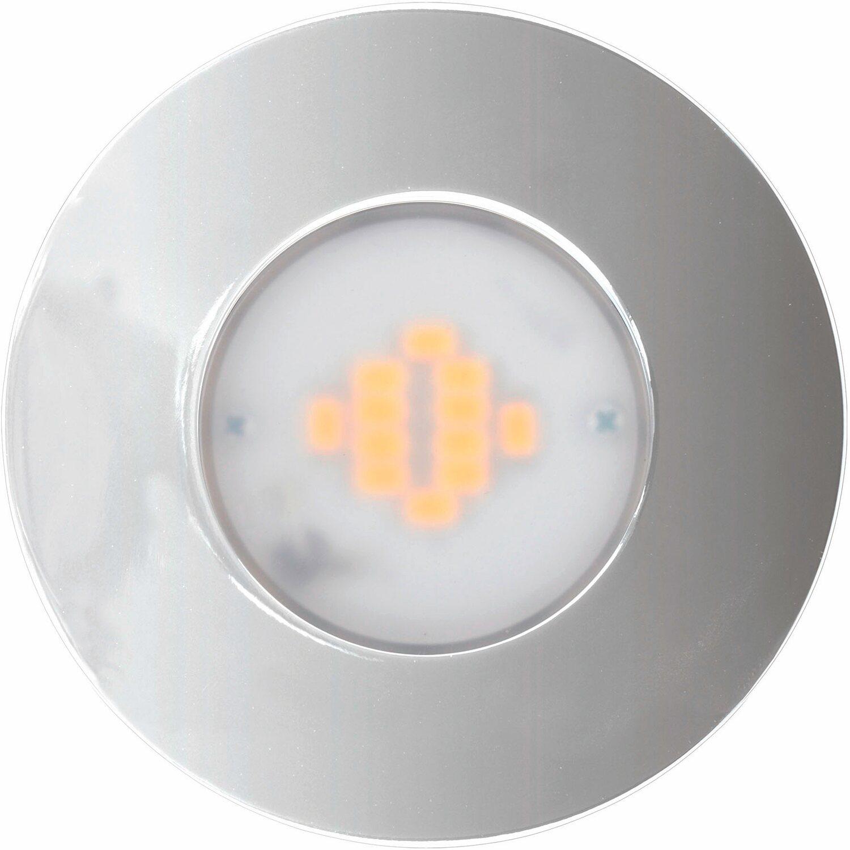 OBI LED-Einbauleuchten 3er-Set Chrom superflach EEK: A kaufen bei OBI