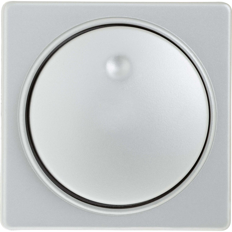 OBI Abdeckung für Dimmer Fortuna Silber   Baumarkt > Elektroinstallation > Dimmer   OBI