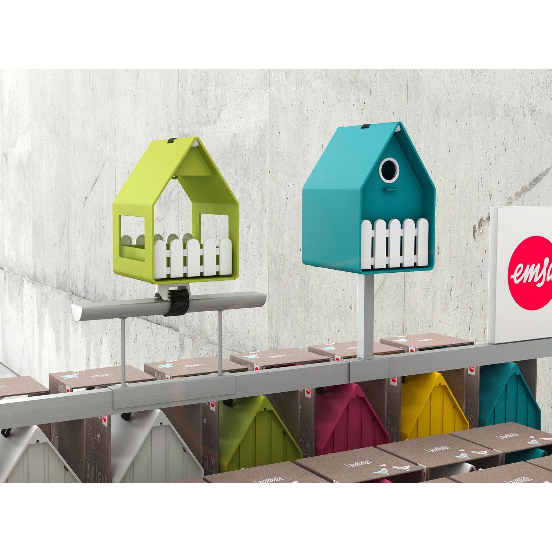 emsa gel nder rohrhalterung f r landhaus vogelhaus und futterhaus kaufen bei obi. Black Bedroom Furniture Sets. Home Design Ideas