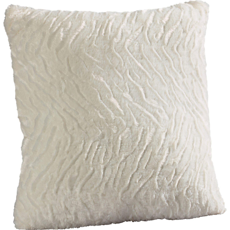 kissen flauschi wei 40 cm x 40 cm kaufen bei obi. Black Bedroom Furniture Sets. Home Design Ideas
