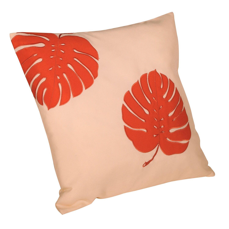kissen mit rei verschluss denpasar orange 50 cm x 50 cm. Black Bedroom Furniture Sets. Home Design Ideas