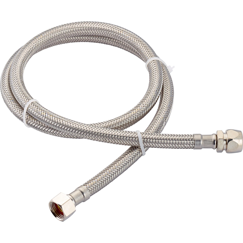 OBI Flex-Armaturen-Schlauchverbinder 14,9 mm (G 3/8) x 10 mm x 1000 mm
