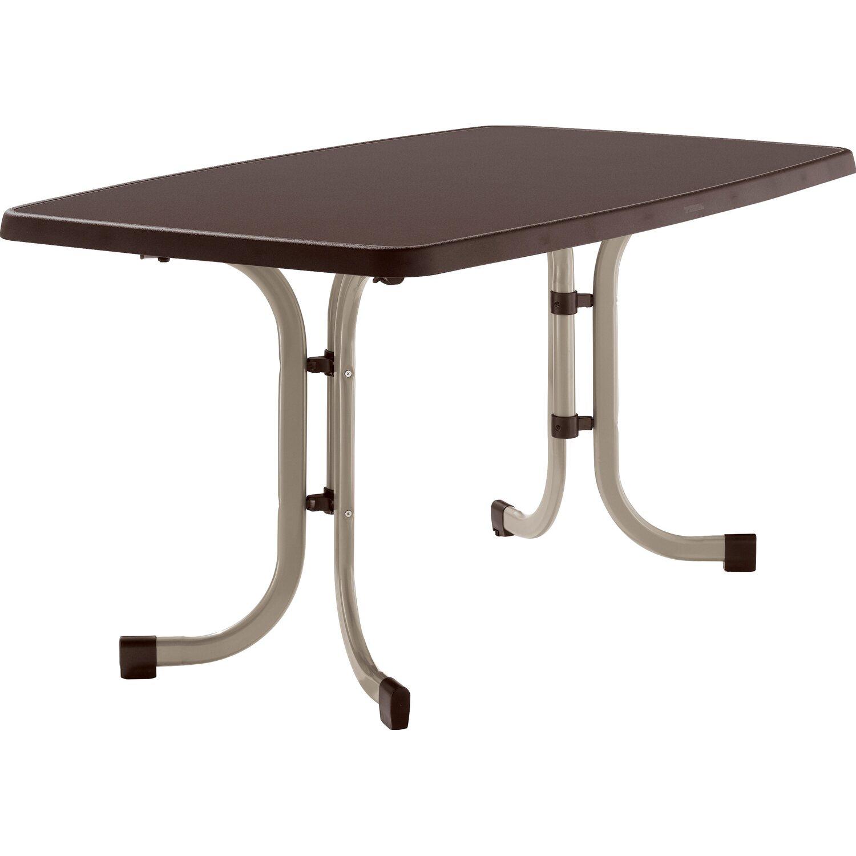 gartentisch 70 x 120 amazing silvertree glastisch david x cm farbe schwarz with gartentisch 70. Black Bedroom Furniture Sets. Home Design Ideas