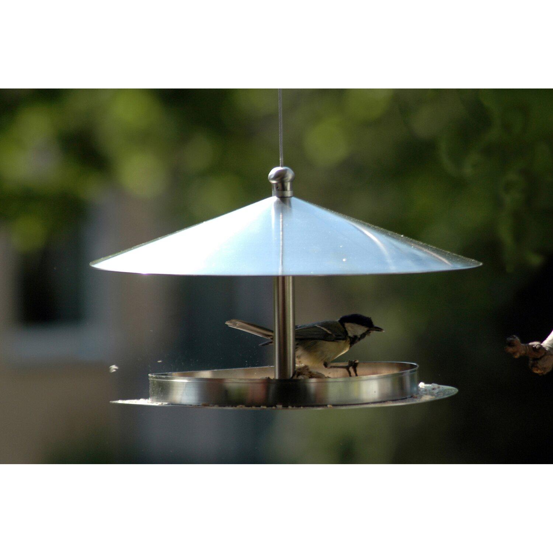 dobar rundes design futterhaus edelstahl zum aufh ngen kaufen bei obi. Black Bedroom Furniture Sets. Home Design Ideas