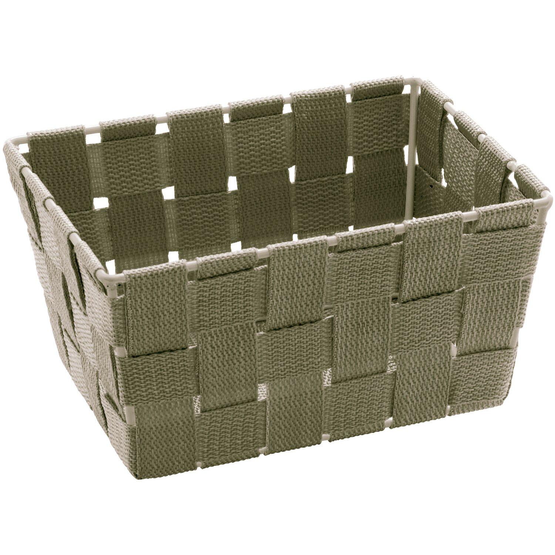 Wenko aufbewahrungskorb adria mini taupe rechteckig kaufen for Planschbecken rechteckig obi
