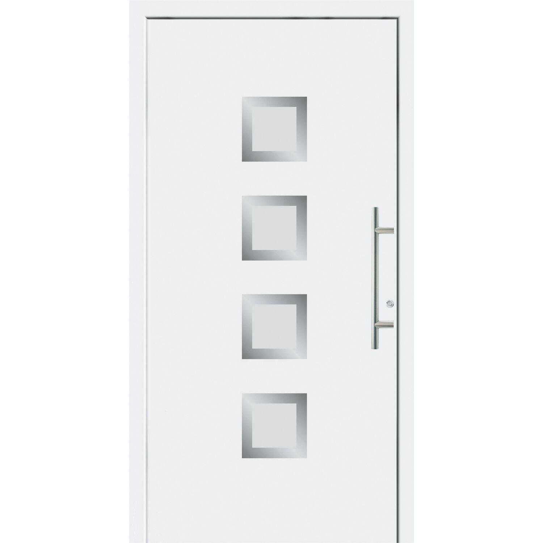 aluminium haust r 90 cm x 210 cm f 55201 wei anschlag links au en ffnend kaufen bei obi. Black Bedroom Furniture Sets. Home Design Ideas