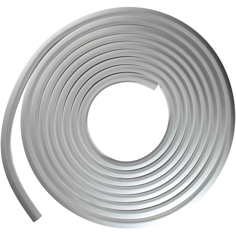 Türdichtung Moosgummi weiß Stahlzarge Türen Dichtung Stahlzargendichtung  5m