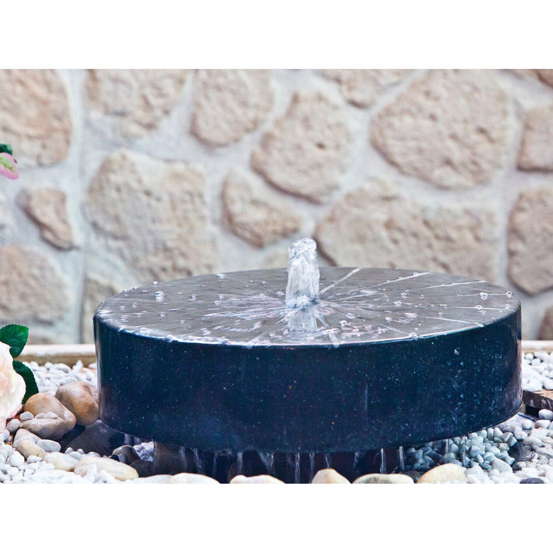 heissner gartenbrunnen set millstone led kaufen bei obi. Black Bedroom Furniture Sets. Home Design Ideas