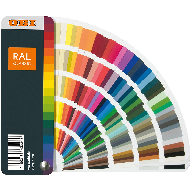 Wandfarben Farbpalette Gelb: OBI Farbtonfächer RAL Kaufen Bei OBI