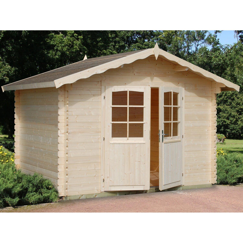 Palmako Holz-Gartenhaus Vivian 300 cm x 240 cm
