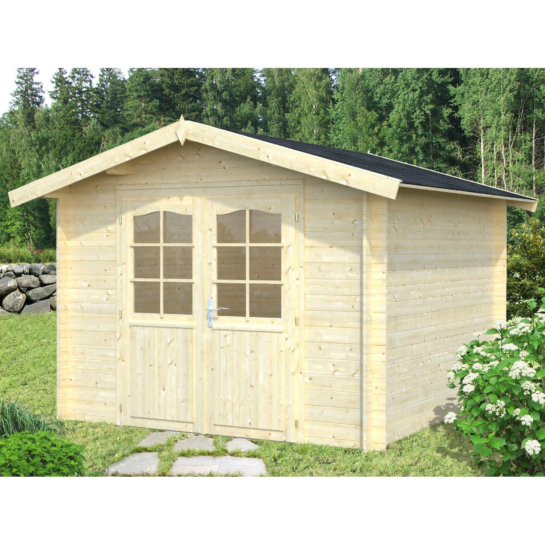 Palmako Holz-Gartenhaus Lotta 276 cm x 276 cm