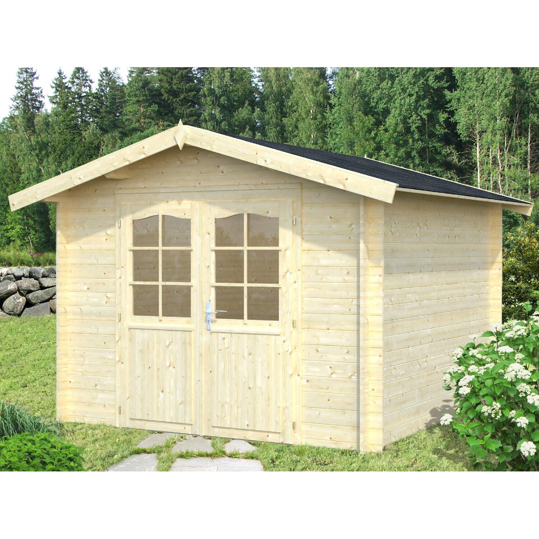Palmako Holz-Gartenhaus Lotta 275 cm x 380 cm
