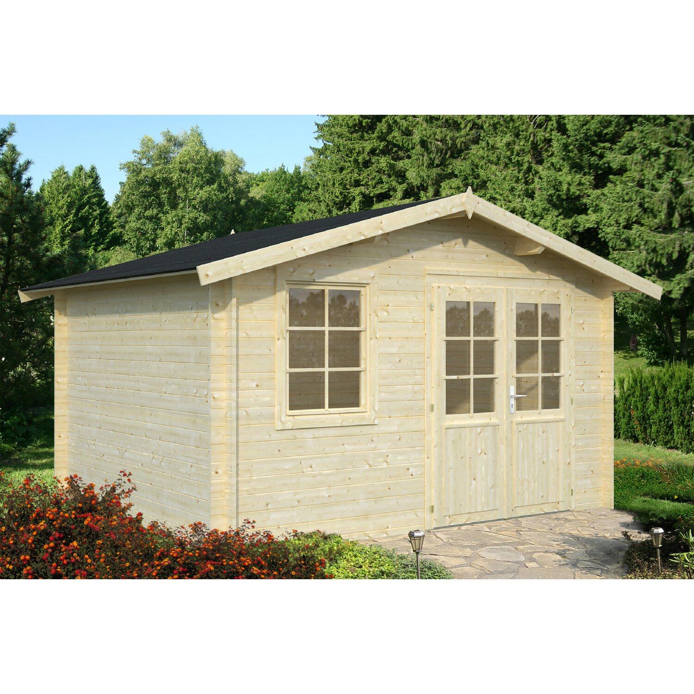 Palmako Holz-Gartenhaus Klara 360 cm x 300 cm