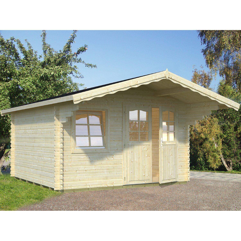 Palmako Holz-Gartenhaus Sally 360 cm x 360 cm