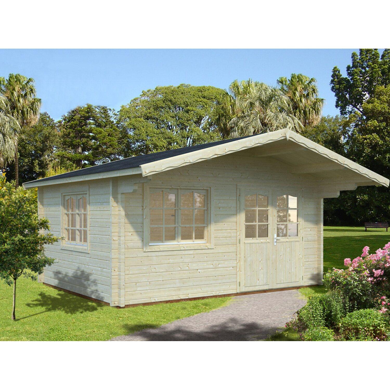 palmako holz-gartenhaus helena b xt: 450 cm x 360 cm kaufen bei obi