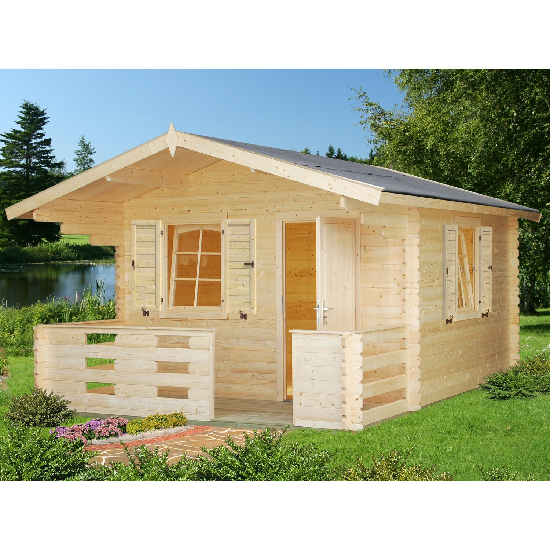 Palmako Holz-Gartenhaus Sylvi 330 cm x 330 cm