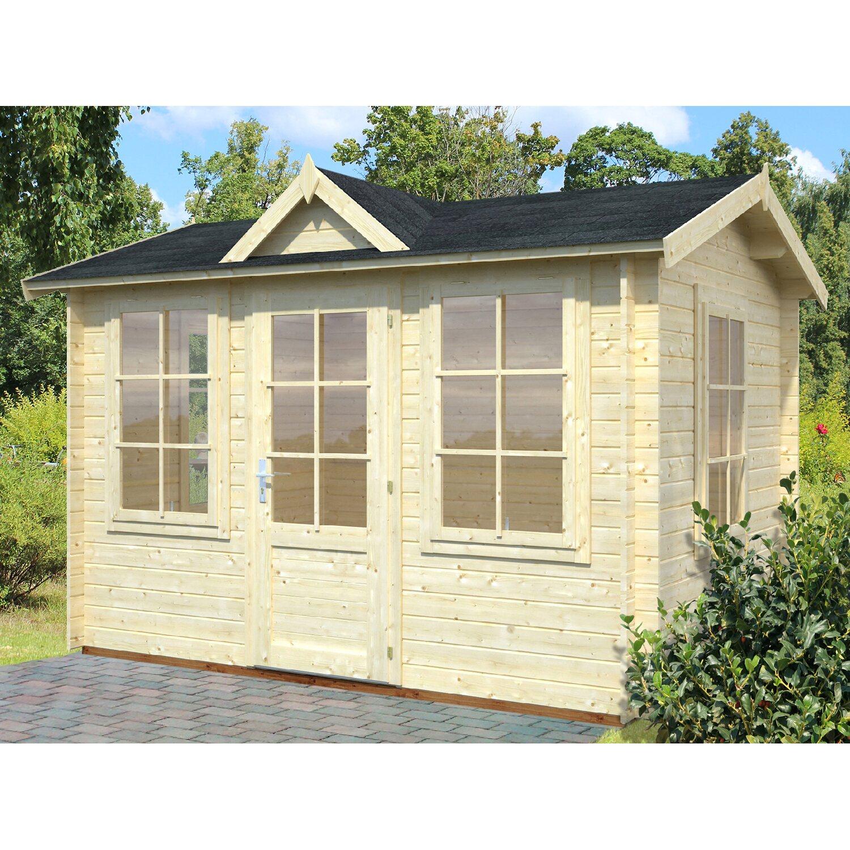 Palmako Holz Gartenhaus Claudia B XT: 320 Cm X 240 Cm