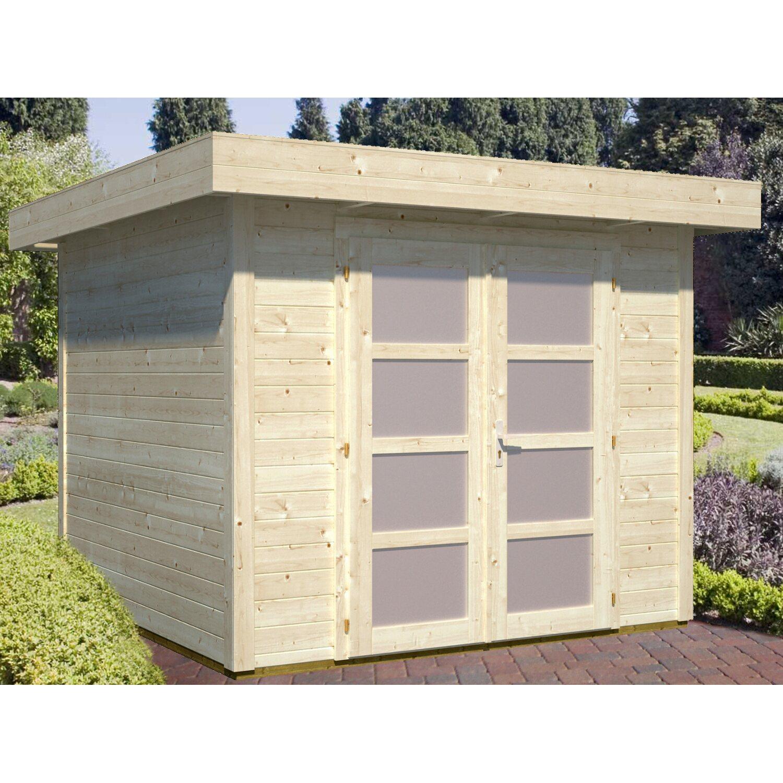 palmako holz gartenhaus lara b xt 250 cm x 250 cm kaufen bei obi. Black Bedroom Furniture Sets. Home Design Ideas