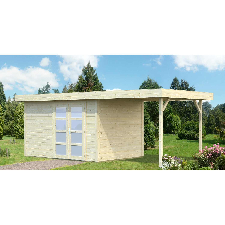 Palmako Holz-Gartenhaus Lara 587 cm x 250 cm