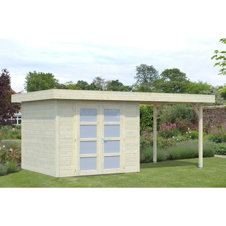 Palmako Holz-Gartenhaus Lara 487 cm x 250 cm