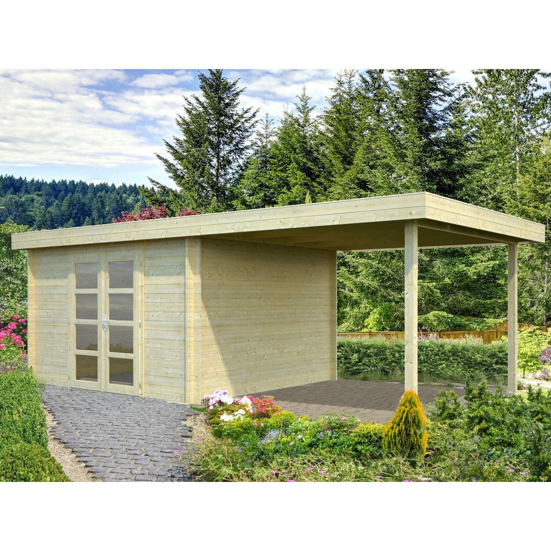 Palmako Holz-Gartenhaus Elsa 617 cm x 300 cm