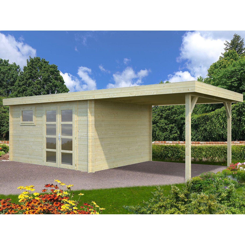 Palmako Holz-Gartenhaus Elsa 677 cm x 300 cm