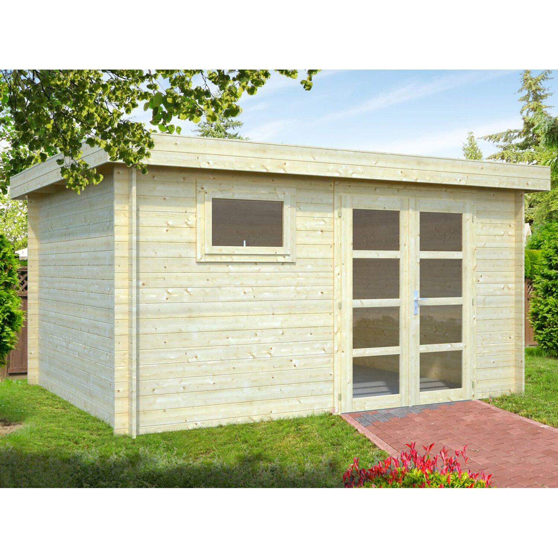 Palmako Holz-Gartenhaus Elsa 390 cm x 300 cm