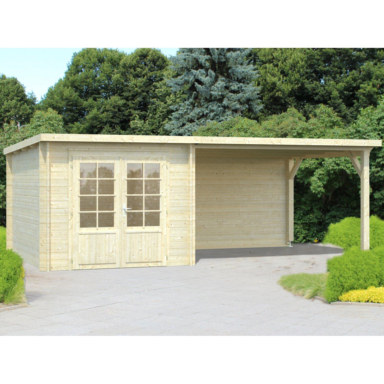 Palmako Holz-Gartenhaus Ella 590 cm x 300 cm