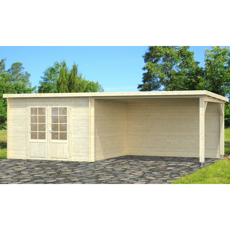 Palmako Holz-Gartenhaus Ella 650 cm x 300 cm