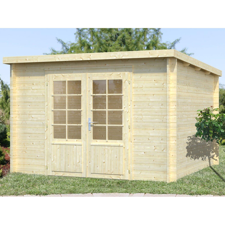 Palmako Holz-Gartenhaus Ella 300 cm x 300 cm