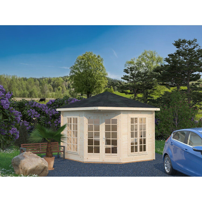 palmako holz pavillon melanie 217 cm x 280 cm x 280 cm kaufen bei obi. Black Bedroom Furniture Sets. Home Design Ideas
