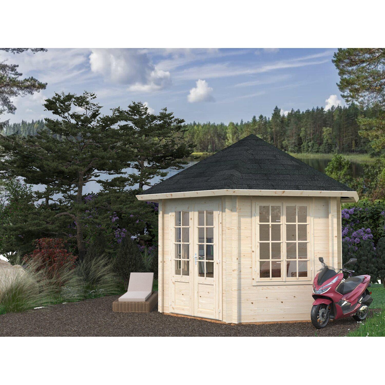 palmako holz pavillon hanna 303 cm x 227 cm kaufen bei obi. Black Bedroom Furniture Sets. Home Design Ideas