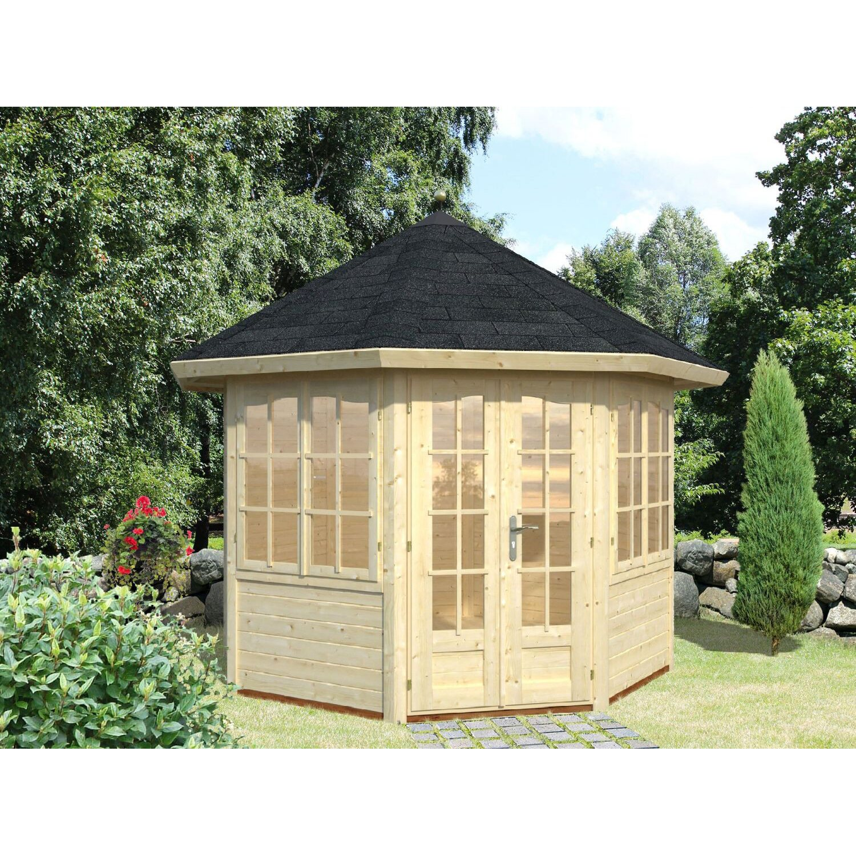 palmako holz pavillon veronica 2 289 cm x 289 cm kaufen bei obi. Black Bedroom Furniture Sets. Home Design Ideas