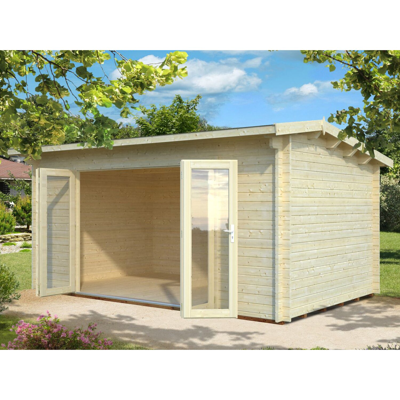 Palmako Holz-Gartenhaus Ines 480 cm x 300 cm