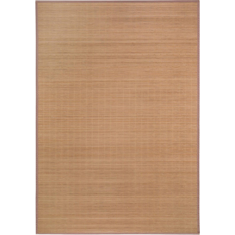 Bambus Teppich Natur Dunkel 133 Cm X 190 Cm Kaufen Bei Obi