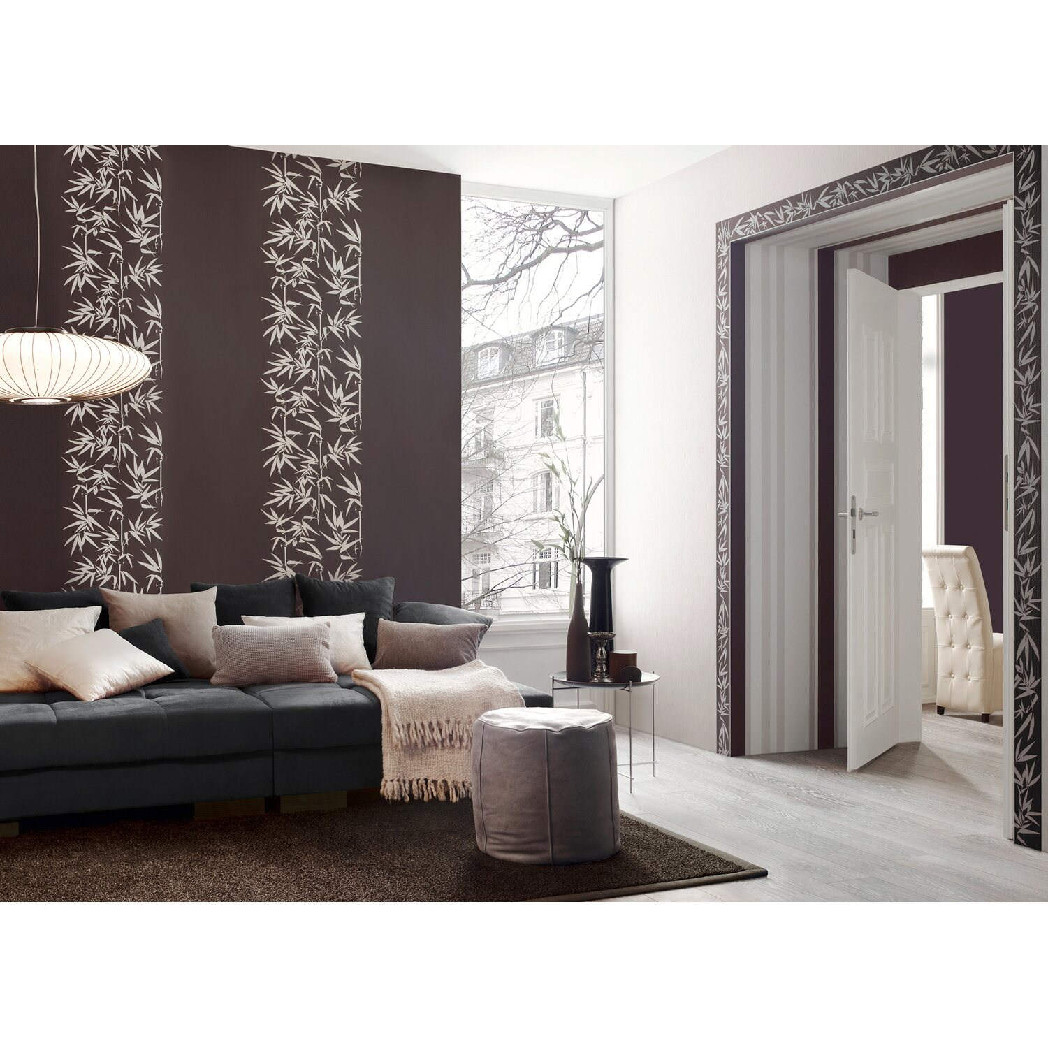 jette vliestapete bambus braun kaufen bei obi. Black Bedroom Furniture Sets. Home Design Ideas
