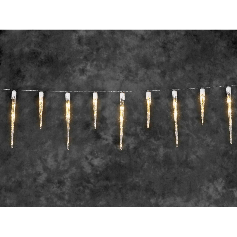 konstsmide led eiszapfen lichtervorhang 16 zapfen 24 lichter bernsteinfarben kaufen bei obi. Black Bedroom Furniture Sets. Home Design Ideas