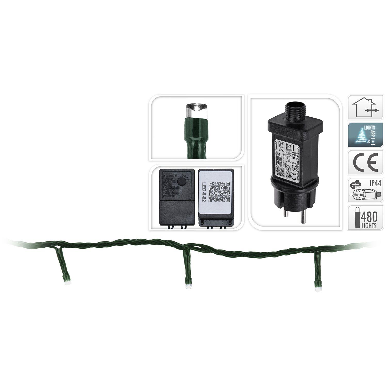 led lichterkette 480 warmwei e leds innovative app steuerung innen und au en kaufen bei obi. Black Bedroom Furniture Sets. Home Design Ideas