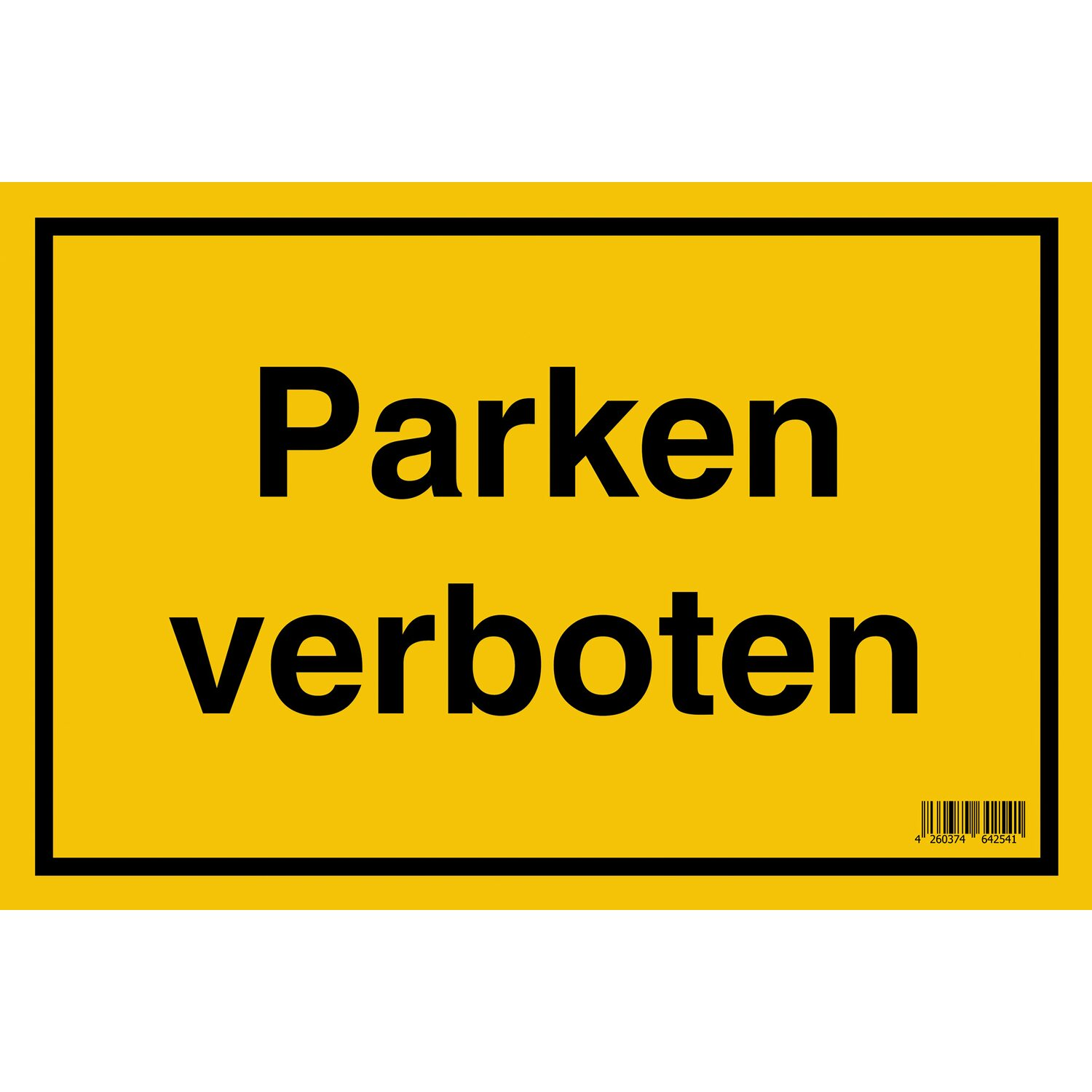 schild parken verboten 20 cm x 30 cm kaufen bei obi. Black Bedroom Furniture Sets. Home Design Ideas
