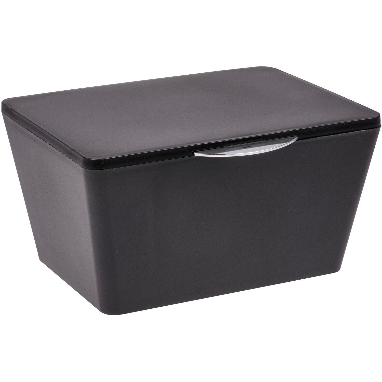 Wenko Badbox mit Deckel Brasil Schwarz kaufen bei OBI