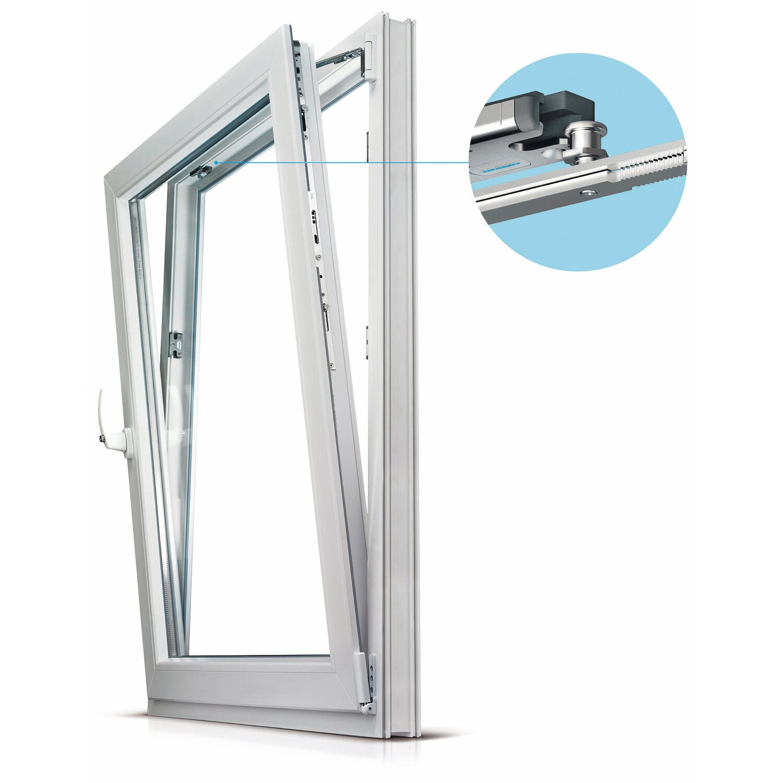 Neu Wohnraum-Kunststoff-Balkontür 2-fach Glas Uw 1,3 Weiß B:85x H:210  BM79