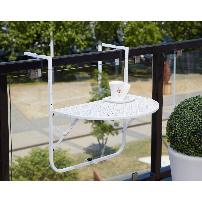 Balkonhängetisch obi  Greemotion Balkonhängetisch Mykonos 50 cm x 65 cm x 60 cm kaufen bei OBI