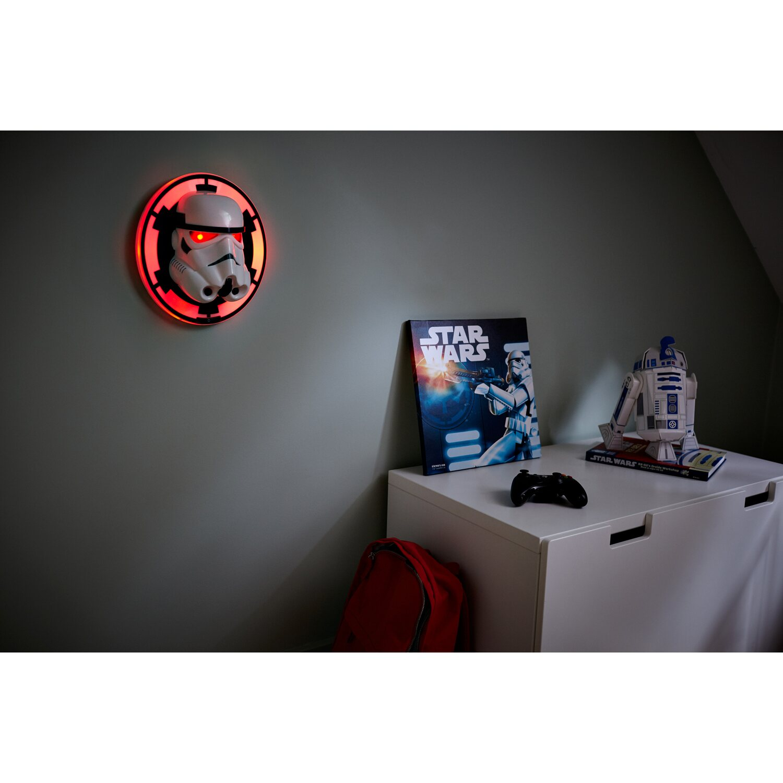 Philips LED-Wandleuchte Stormtrooper Weiß