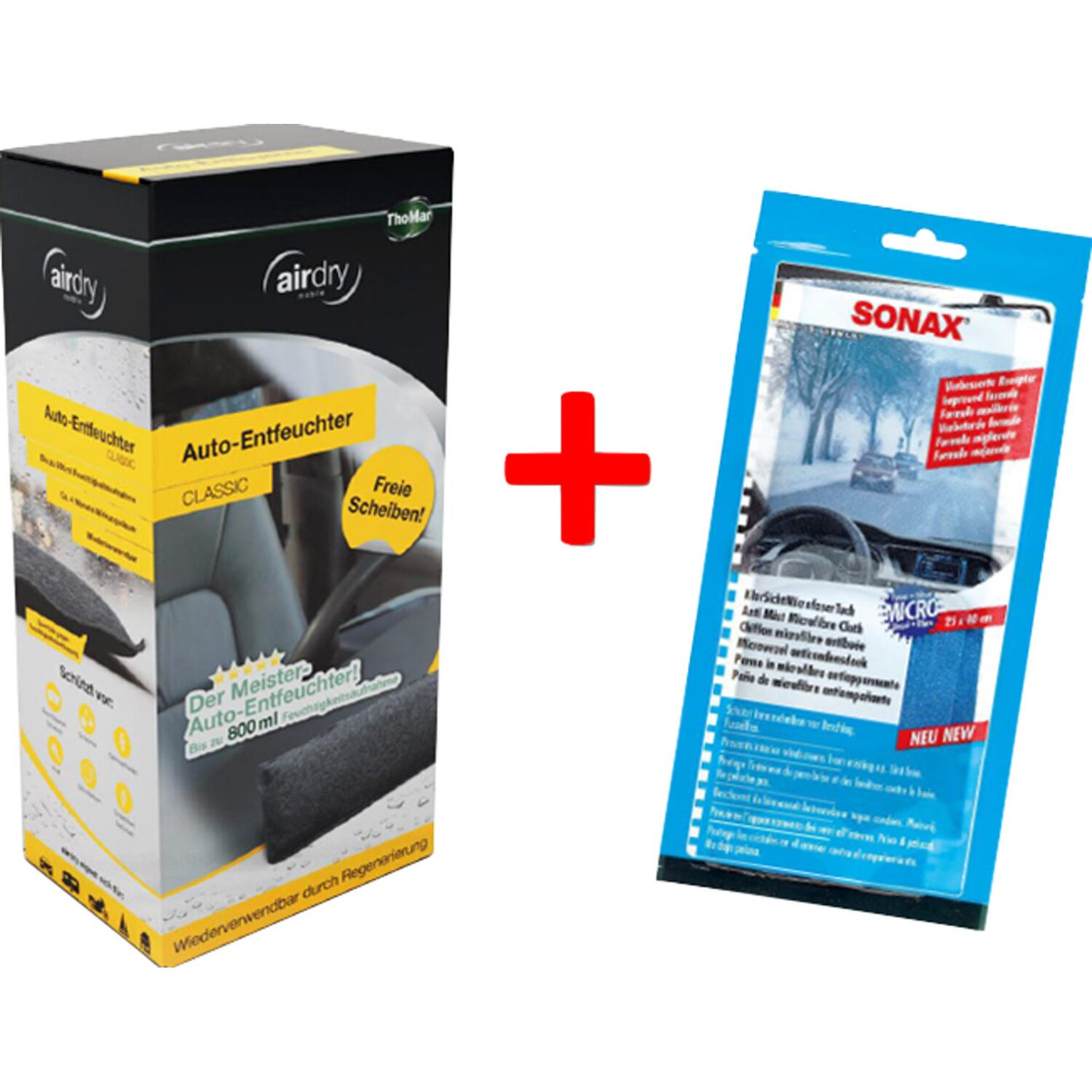 ThoMar Auto-Luftentfeuchter Airdry 1 kg inkl. S...