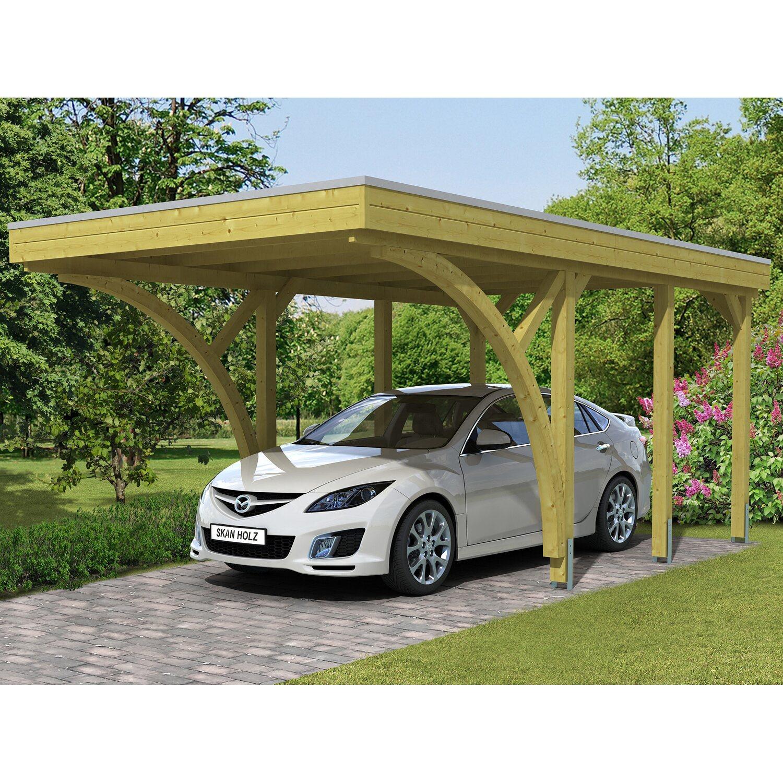 Skan Holz Carport Friesland Set 6 314 cm x 555 cm   Baumarkt > Garagen und Carports   Skan Holz